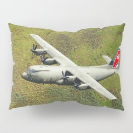 Low Flying Hercules With Special RAF Centenary Tail Art Pillow Sham