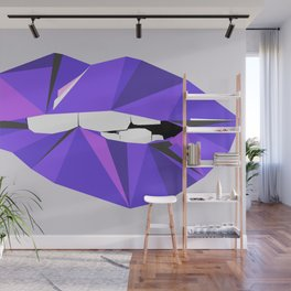 Aurora Lip - POSE Wall Mural