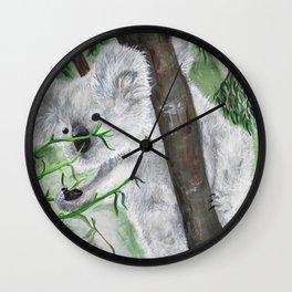 Kevin the Koala Wall Clock