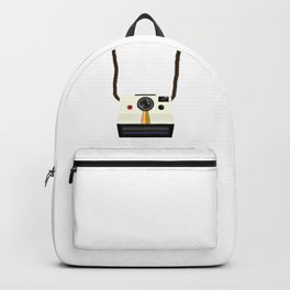 Retro Camera with Strap Backpack