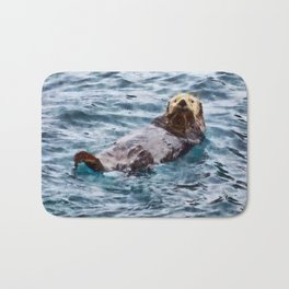 Happy Otter Bath Mat