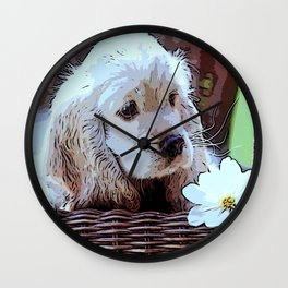 my young friend Wall Clock