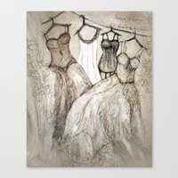 theater Canvas Prints featuring theater by woman