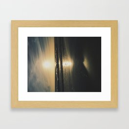 Sycamore Cove Framed Art Print