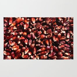 Red corn Rug