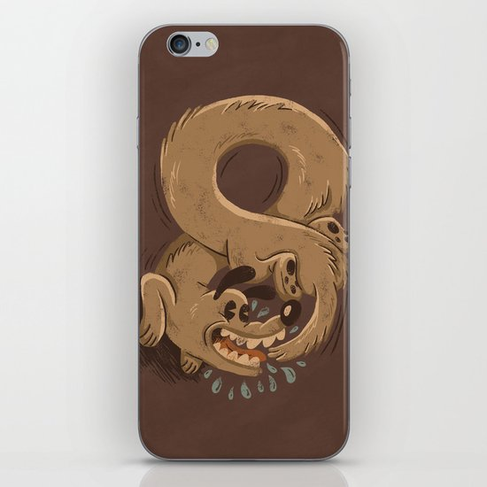 Chase Your Tail Forever iPhone & iPod Skin