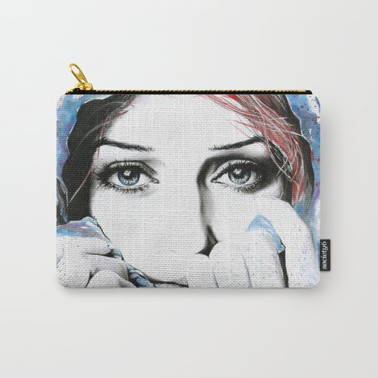 See What Feelings I Hide Carry-All Pouch