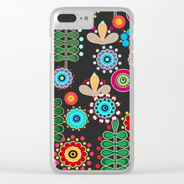 Waltz of the flowers .  2 Retro Clear iPhone Case