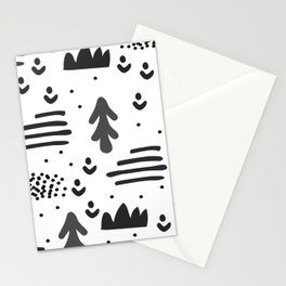 Sandinavian absract art Stationery Cards