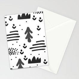 Sandinavian absract art Stationery Cards