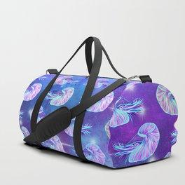 The Celestial Chambered Nautilus Duffle Bag