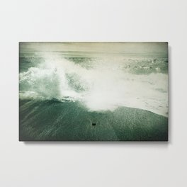Beside the Sea III Metal Print