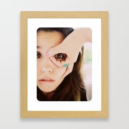 I Love Being a Public Spectacle  Framed Art Print