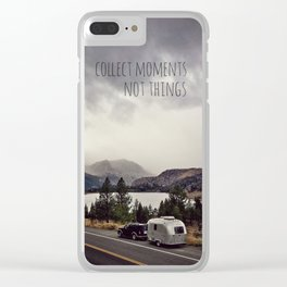 Collect Moments Clear iPhone Case