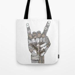 Mech-Rock Tote Bag
