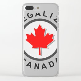 Legalize Clear iPhone Case