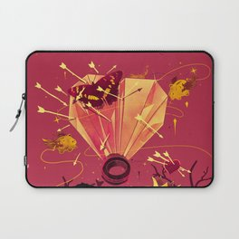 2 Hearts 2 Love Laptop Sleeve