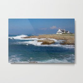 South Bretagne Metal Print