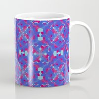 asia Mugs featuring Asia 3 by Emma Stein