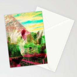 Oswald I by Naoma Serna Stationery Cards