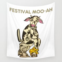 Festival Moo-Ah 2015 Wall Tapestry