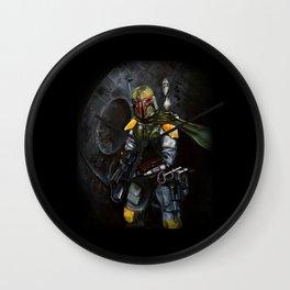 BobaFett of the 501st Legion fan art Wall Clock