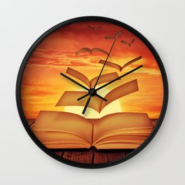 Escaped Thoughts Wall Clock