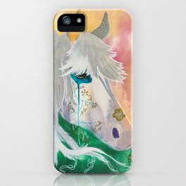 You and me - Horses - Animal - by LiliFlore iPhone Case
