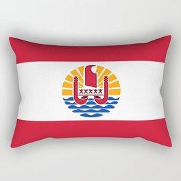 flag of french polynesia Rectangular Pillow