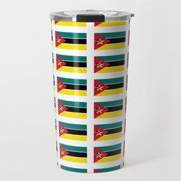 Flag Of mozambique-Mozambique,mozambican,Moçambique,moçambicano,moçambicana,Maputo Travel Mug