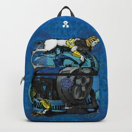 """Ars Tarot of the 12 Zodiac: """"Cancer - The Chariot"""" Backpack"""