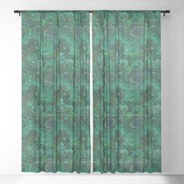 malachite Sheer Curtain