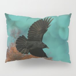 Soaring Crow Pillow Sham