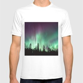 Colorful Northern Lights, Aurora Borealis T-shirt