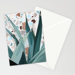 Leaves+Terrazzo° Stationery Cards