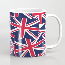 Union Jack Flags Coffee Mug