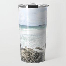 Cornwall coastline Travel Mug
