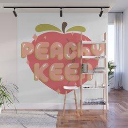 Peachy Keen Wall Mural