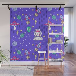 Space Love Wall Mural