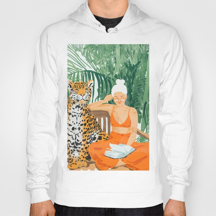 Jungle Vacay #painting #illustration Hoody
