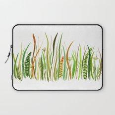 Prairie Watercolor by Robayre Laptop Sleeve