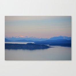 Olympic Range Canvas Print