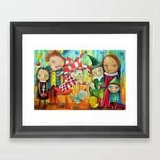 Friends Of The Prince Framed Art Print