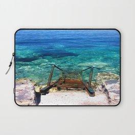 deep blue sea photography Laptop Sleeve