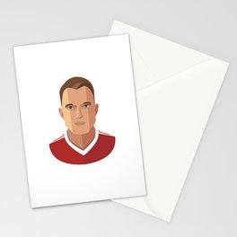Phil Jones MUFC Flat Illustration Stationery Cards