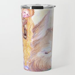 Goddess of Lust and War Travel Mug