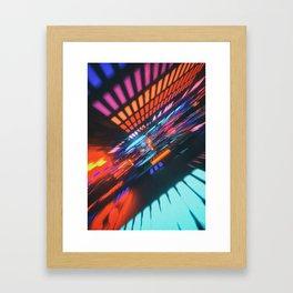 hiispeed// Framed Art Print