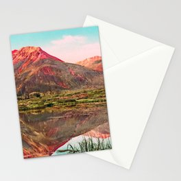 Red Mountain - Rocky Mountains - Colorado 1901 Stationery Cards