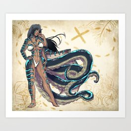 Eldritch Transformation Art Print