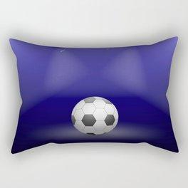 Celebration, Football in the spotlight Rectangular Pillow